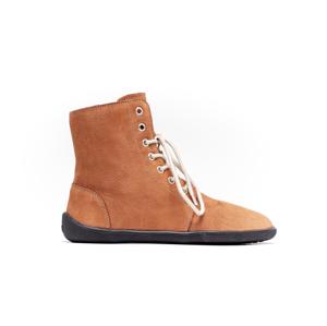 Barefoot kotníkové boty Be Lenka Winter – Cognac 46