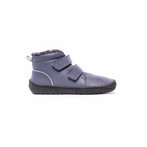 Dětské zimní barefoot boty Be Lenka Penguin - Charcoal 33
