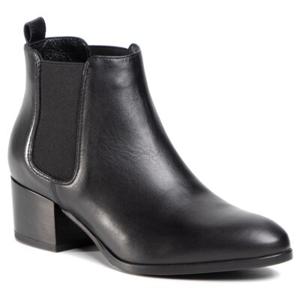 Kotníkové boty Gino Rossi 46244-02 Přírodní kůže (useň) - Lícová