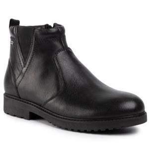 Kotníkové boty GO SOFT MI07-A824-A653-01 Přírodní kůže (useň) - Lícová