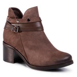 Kotníkové boty Lasocki 8002-07 Přírodní kůže (useň) - Nubuk