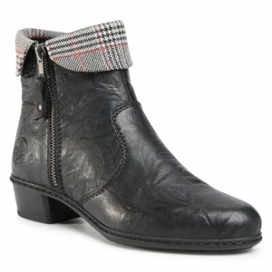 Kotníkové boty Rieker Y07A8-02 Přírodní kůže (useň) - Lícová
