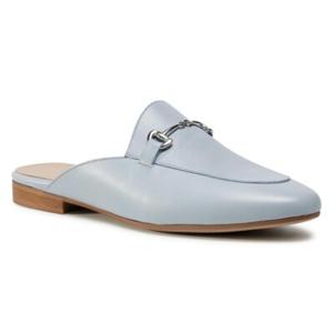 Pantofle Gino Rossi E21-27686BT-HOLLY Přírodní kůže (useň) - Lícová