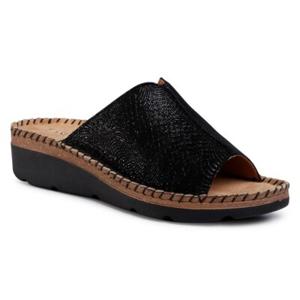 Pantofle Lasocki ARC-4776-01 Přírodní kůže (useň) - Semiš