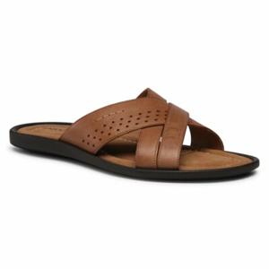 Pantofle Lasocki for men MI07-C271-831-52 Přírodní kůže (useň) - Lícová