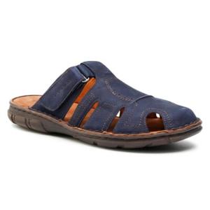 Pantofle Lasocki for men MI08-C271-320-56 Přírodní kůže (useň) - Nubuk