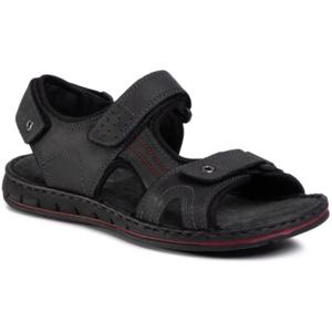 Sandály GO SOFT MI18-ESSAAR-01 Přírodní kůže (useň) - Nubuk