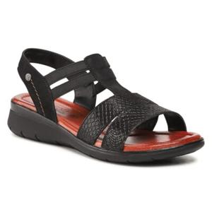 Sandály GO SOFT  Přírodní kůže (useň) - Nubuk