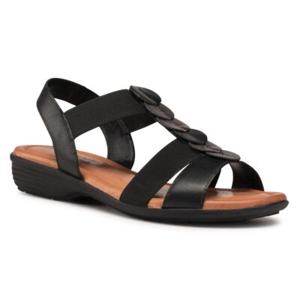Sandály GO SOFT WI16-956-02 Přírodní kůže (useň) - Lícová