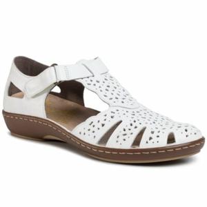 Sandály Rieker 45885-80 Přírodní kůže (useň) - Lícová
