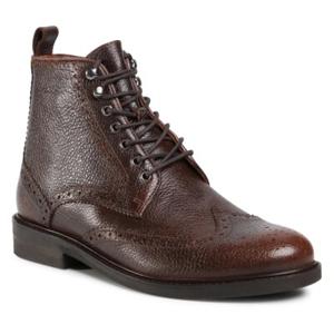 Šněrovací obuv Gino Rossi MI07-A962-A791-17 Přírodní kůže (useň) - Lícová