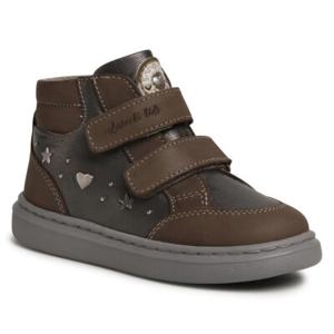 Šněrovací obuv Lasocki Kids CI12-RYANA-01 Přírodní kůže (useň) - Lícová