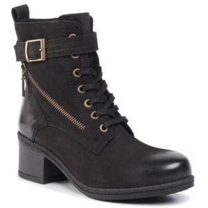 Šněrovací obuv Lasocki WI23-DAJANA-04 Přírodní kůže (useň) - Nubuk
