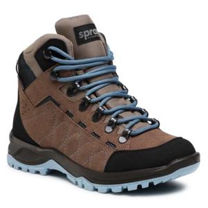 Šněrovací obuv Sprandi Outdoor Performance 3770B.21S Přírodní kůže (useň) - Semiš