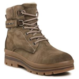 Šněrovací obuv Tom Tailor 909070100 Ekologická kůže /-Ekologická kůže